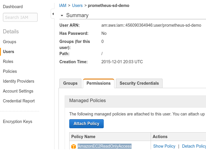 Automatically monitoring EC2 Instances – Robust Perception